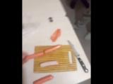 Сосиски с червями