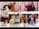 Ateliê na TV Rede Brasil 09 06 16 Millyta Vergara e Elizangela Rodrigues