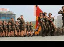 I put spongebob music over north koreans marching