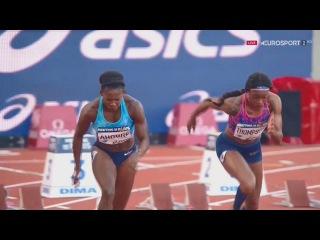 Women's 100m | Elaine Thompson vs Ta Lou | Paris Diamond League 2017