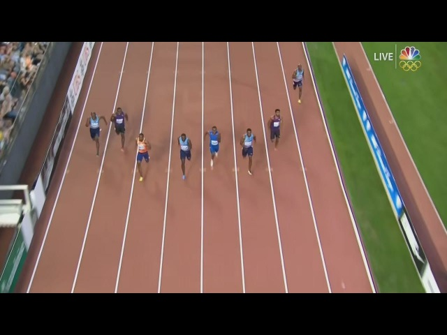 Justin Gatlin beats Simbine in men 100m - Lausanne Diamond League 2017
