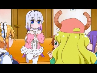 Kobayashi-san Chi no Maid Dragon\Драконогорничная Мисс Кобаяши (прыжки) · #coub, #коуб