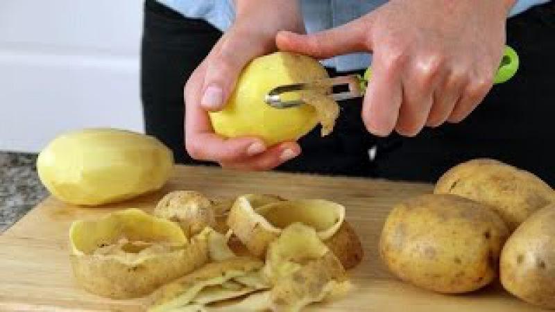 Картофельная кожура Стоит ли выбрасывать Противораковые свойства картофельной кожуры Картофельные