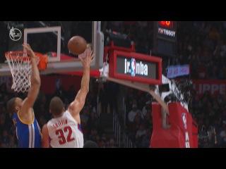 JaVale McGee Blocks Blake Griffin | Warriors vs Clippers | December 7, 2016 | 2016-17 NBA Season