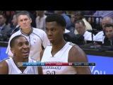 Hassan Whiteside Stares Down Justin Holiday | Knicks vs Heat | December 6, 2016 | 2016-17 NBA Season