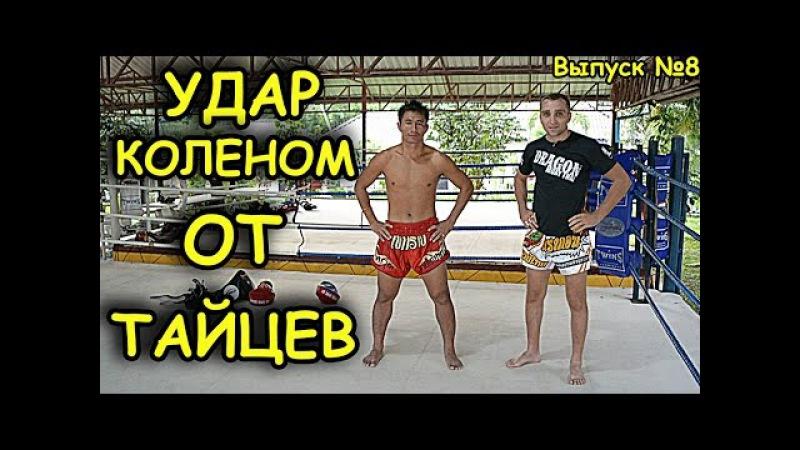 Удар коленом (в прыжке и т д), Тайский бокс. Техника, обучение от Тайцев