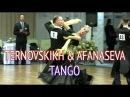 Sergey Ternovskikh Valeriya Afanaseva   Tango   Autumn Rhythms 2016