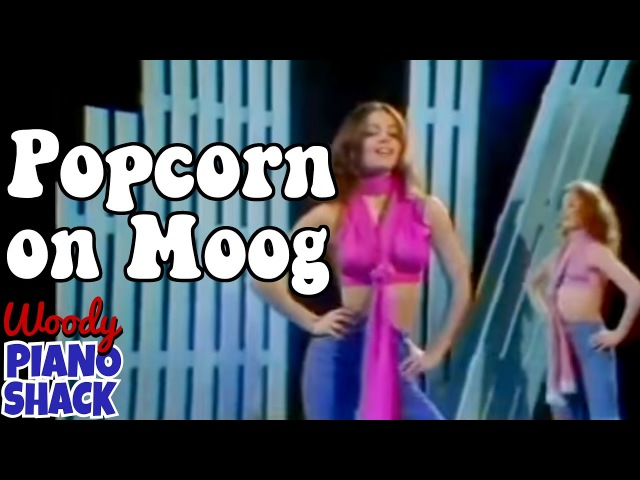 Popcorn song on Moog synthesizer
