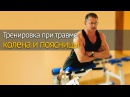 Тренировка при травме колена и поясницы - какие упражнения и как выполнять nhtybhjdrf ghb nhfdvt rjktyf b gjzcybws - rfrbt eghf