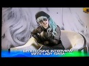 I'd rather be the hooker of POP - Lady GaGa on MYX NEWS (07 16 2011)
