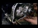 Как поставить сцепление на мопед Wonjan 72cc