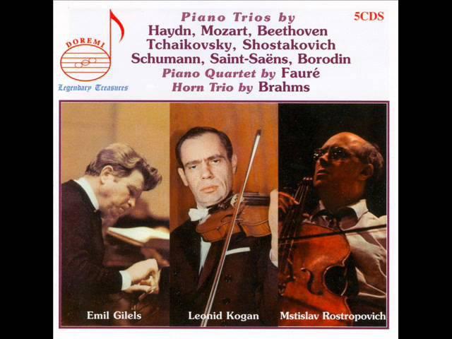 Haydn - Trio for Piano, Violin and Cello in D major, Hob.XV:16 - III. Vivace assai