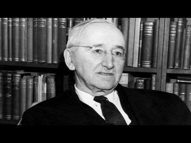 Фридрих Август фон Хайек, австрийский философ (радиопостановка)