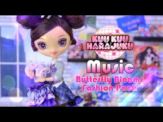 ОБЗОР куклы и фэшн-пэка: KUU KUU HARAJUKU Music