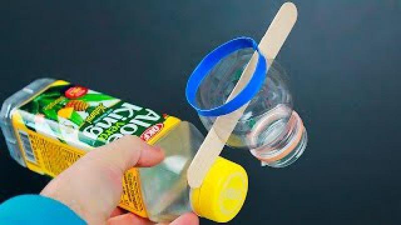 5 Идей из пластиковых бутылок/5 ideas of reusing plastic bottles