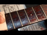 Fret Butter How to Clean and Condition Rosewood Fingerboard, Polish your Guitar Frets