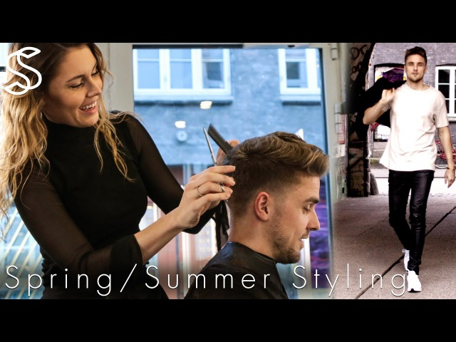 Summer Spring hairstyle outfit 🌞 Men's fashion and hair Slikhaar Studio