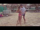 Thomas &amp Desiree Shape Of You  Bachata En La Playa  2017