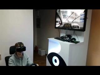 Авто-тренажер. Режим города в VR.