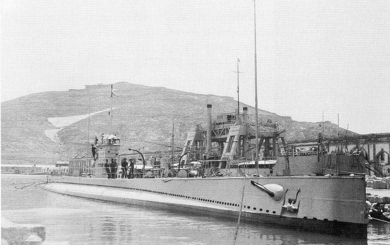 Испанская «республиканская» подводная лодка С-3.
