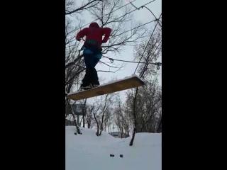 Тренировка прохождения связки по леднику