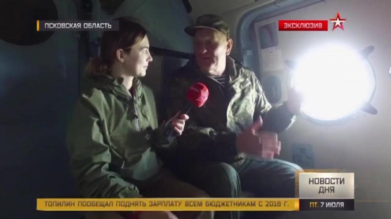 Журналисты «Звезды» сняли уникальные кадры на учениях ВДВ