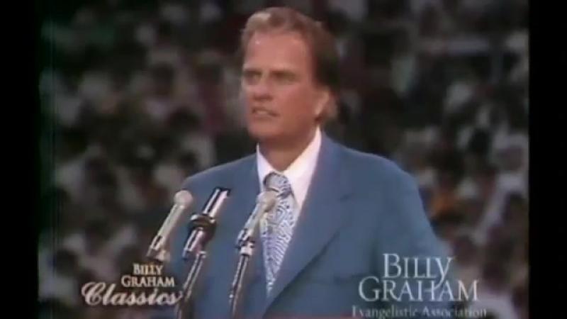 Наибольшее Пробуждение в Истории Человечества - Билли Грэм - Даллас 24.09.1971 [на Русском]