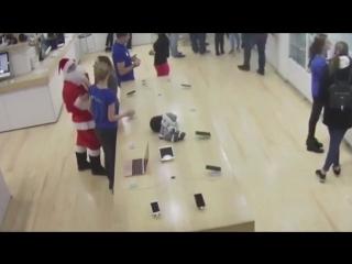 Какой-то неправильный Дед Мороз