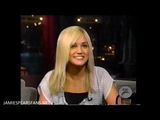 Jamie Lynn Spears  au Late Show de David Letterman le 6 janvier 2005
