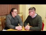 Игорь Попов и писатель Олег Комраков в передаче Эпиграф  20.02.17