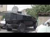 Бронеавтомобиль ЗИЛ Каратель в действии против боевиков
