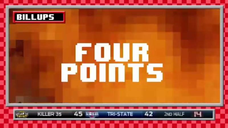 BIG 3 4 points shot