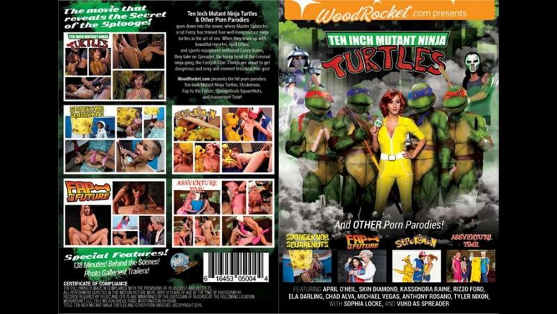 ♥Ten Inch Mutant Ninja Turtles And Other Porn Parodies ♠Озабоченные Мутанты Ниндзя Черепахи и Другие Пародии♦(2016)♣[HD 360р]♥