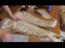 Технология обработки мехового воротника