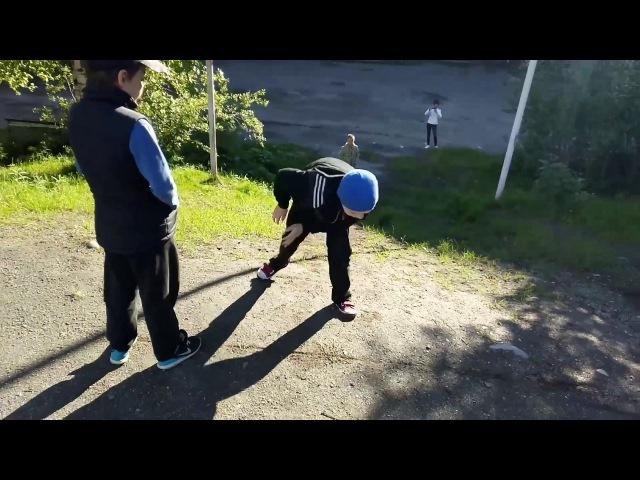 Гусиным шагом в горку СФП для детей младшего школьного возраста