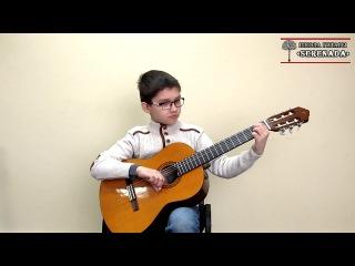 Уроки гитары Киев - Vals - Bartolome Calatuyud. SERENADA.IN.UA