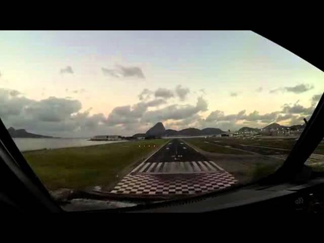 Красота полёта с кабины А 320