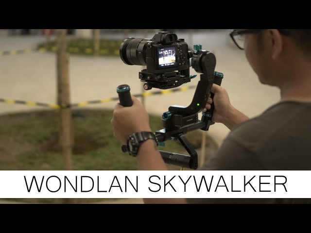 Wondlan Skywalker Motorized Gimbal 3 Axis with Sony A7sii