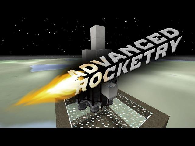 [Обзор][1.10.2] Advanced Rocketry - Миссия на ресурсы и космическая станция (часть 2) - S5-EP18