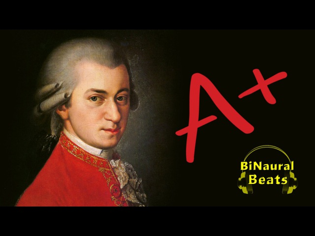 Classical Study Music | Mozart with Alpha Study Aid Embedded - Alpha BiNaural Beats