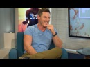 Luke Evans belts out Elton John's 'Don't Let the Sun Go Down on Me'