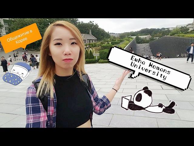 SEOUL VLOG 2 Общежитие в Корее | Graduate student dormitory, Ewha Womans University