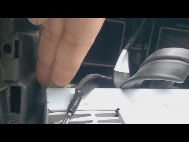 Камера заднего вида Калина 2 универсал(Инструкция для Автоваза)