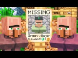 Villager & Witch Life 3 - Alien Being Minecraft Animation