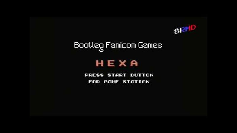Bootleg Famicom Games ~ Hexa / Magic Block (Columns Ripoff)