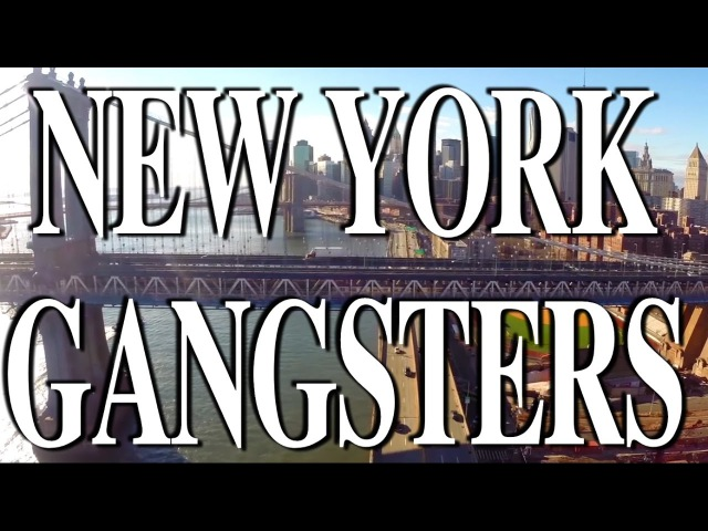 NEW YORK GANGSTERS - Tragedy Khadafi, Necro, Chris Rivers, Capone-N-Noreaga, Thirstin, Raze, Hec