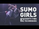 Sumo Girls Eighty-Two Techniques |相撲ガールズ82手 |セーラー服の美少女が相撲!? | SUMO82