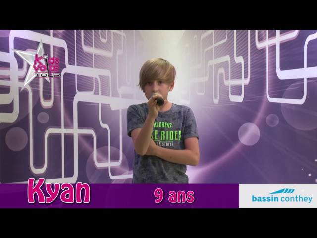Kyan - Kids Voice Tour 2016 - Bassin Conthey