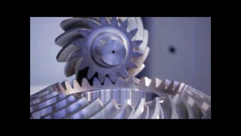 5 осевой станок ЧПУ, точение конических шестерней