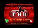 Приглашение на концерт PND 18.11.17